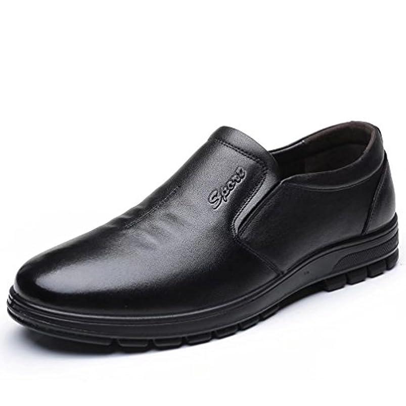 日記モンク確かなQIUXL 高品質 革靴 紳士靴 ビジネスシューズ メンズ ドライバーズシューズ 通気性抜群 通勤 カジュアルシューズ 牛革 柔らかい