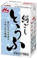 森永乳業 常温 森永絹ごしとうふ 290g×12個×4ケース(48個)