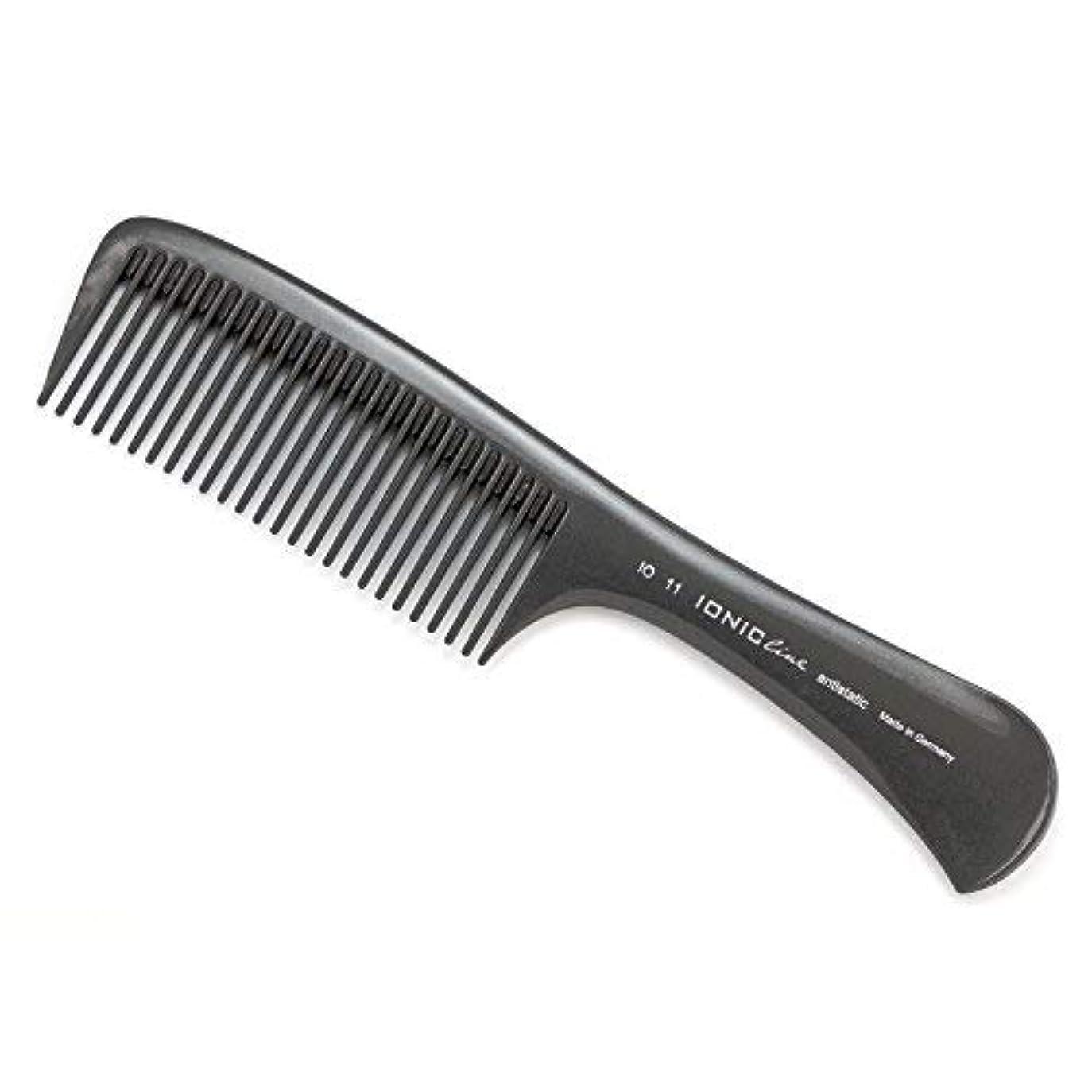 ネスト矩形利益Hercules S?gemann IONIC Line Handle Comb, Big Working Comb | Ionized Thermoplastic - Made in Germany [並行輸入品]