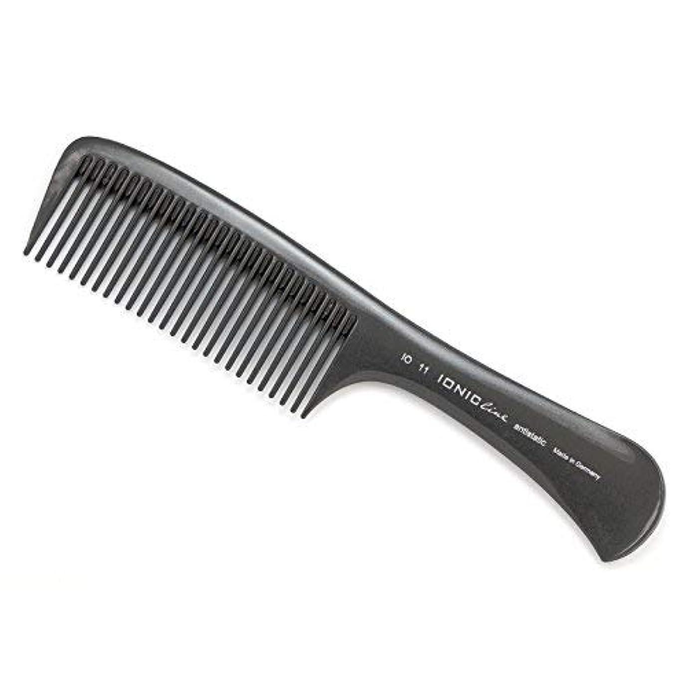 光沢のあるまだ講義Hercules S?gemann IONIC Line Handle Comb, Big Working Comb   Ionized Thermoplastic - Made in Germany [並行輸入品]