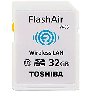 東芝 TOSHIBA 無線LAN搭載 FlashAir III 最新世代 Wi-Fi SDHCカード Class10 日本製 並行輸入品 (32GB)