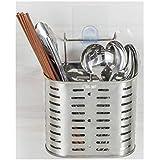 キッチン収納 箸立て スプーン入れ 食器 水切りポケット ステンレス製 ケット 大容量 箸たて