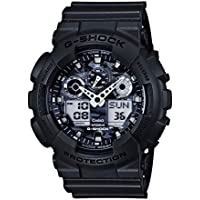 Casio G-Shock Analogue/Digital Mens Camouflage Grey Watch GA100CF-8A GA-100CF-8A