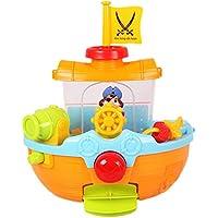 Ziweibaお風呂で遊ぶおもちゃ 噴水 海?船 バストイ お風呂 おもちゃ
