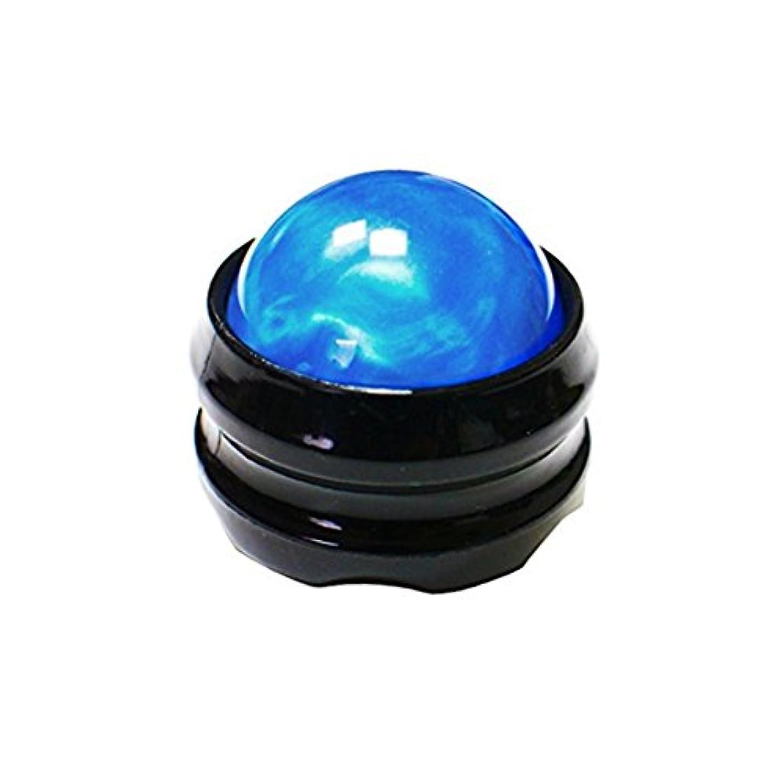 浸透する放置摂氏Besthomelife マッサージ ボール 360度回転 背中 首 腰  筋膜リリース 健康器具 (青)