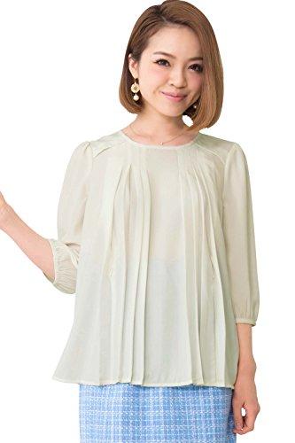 甜妈妈(甜妈妈)百褶设计A-线过衬衫护理衣服/孕妇