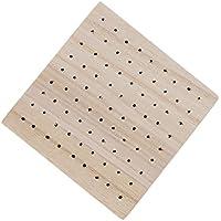 Baosity 粘土用 木製模型 モデルベース 100×100×18mm 簡単実用 ホビー用工具 品質保証