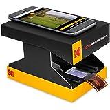 KODAK Mobile Film Scanner Scan & Save Old 35mm Films & Slides w/Your Smartphone Camera – Portable, Collapsible Scanner w/Built-in LED Light & Free Mobile App for Scanning, Editing & Sharing Photos