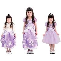 ディズニー ちいさなプリンセス かわいい3WAYドレス キッズコスチューム 女の子 100cm-110cm