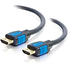 C2G/Cables to Go 29681 High Speed HDMI Cable with Gripping Connectors (16.5 Feet)