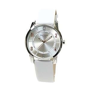 腕時計 ユニセックス メンズ レディース ウォッチ アナログ 本革ベルト 丸型 #【No.1】ホワイト