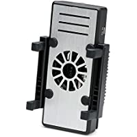 サンワダイレクト スマホ用冷却クーラー ファン付 横置き/縦置き 3段階風量調節 バッテリー内蔵 400-CLN024