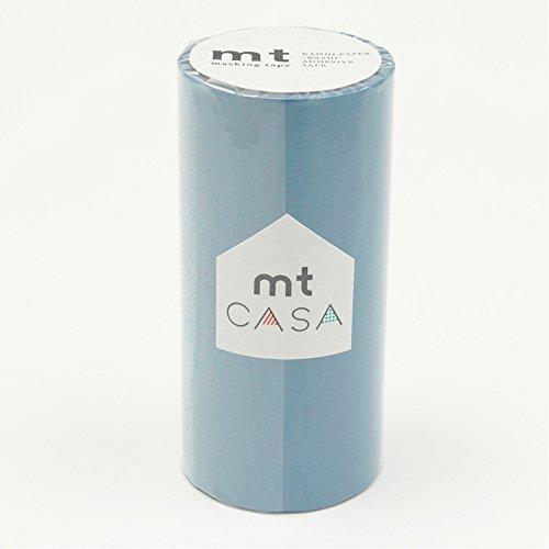カモ井加工紙 マスキングテープ mt CASA 100mm 浅縹 あさはなだ