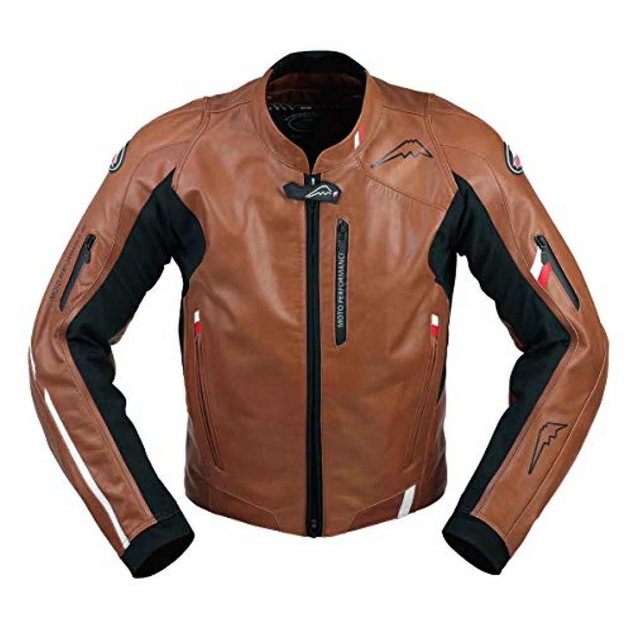 香ばしいグローバル記憶KUSHITANI(クシタニ) クロームジャケット ブラウン LL K-0691