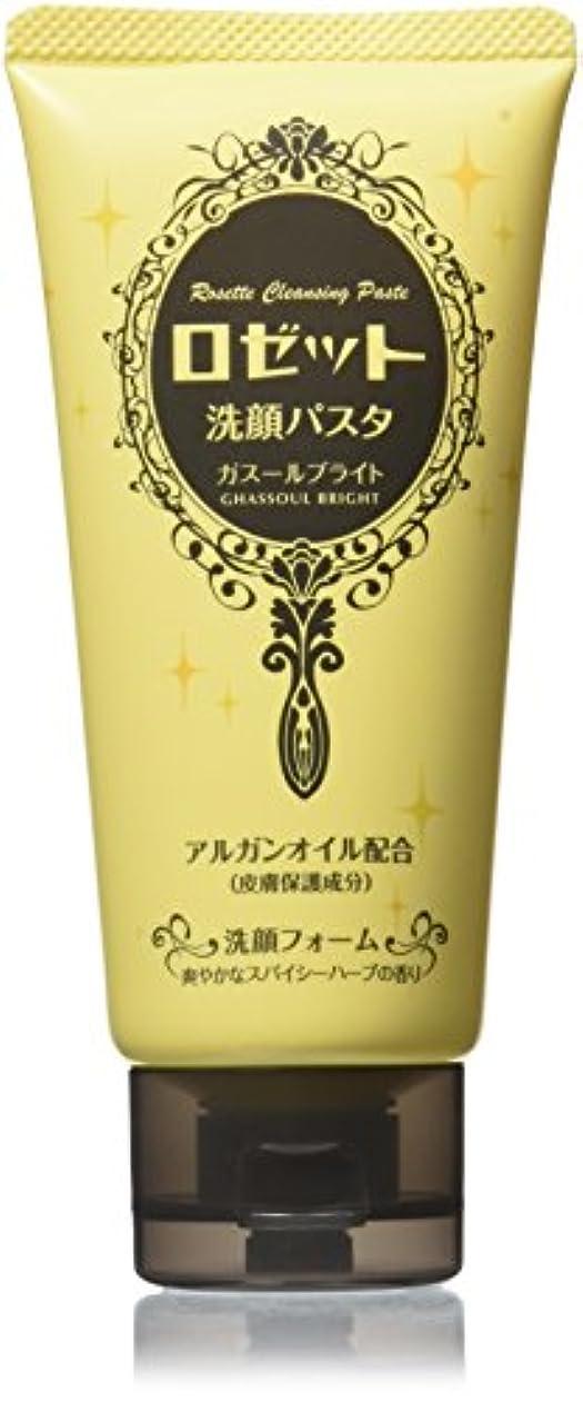 ボトルサージ淡いロゼット 洗顔パスタ ガスールブライト 120g