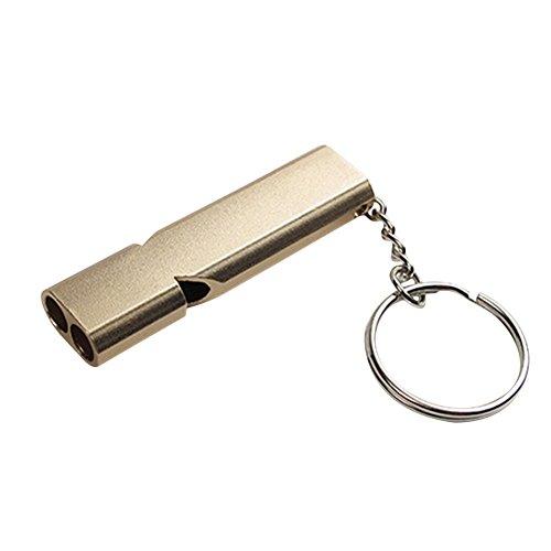 [해외]Keepjoy 방재 피리 긴급 휘슬 서바이벌 휘슬 금속 구조 휘슬 휴대 스트랩 야외 캠핑 여행 등산 위험 방지 방재 방범 호루라기 긴급 구조 피리 조난 SOS 열쇠 고리/Keepjoy Disaster prevention whistle Emergency whistle Survival whistle Metal re...