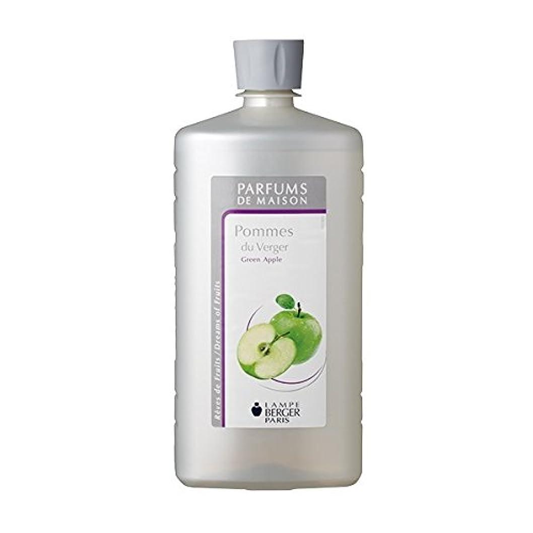 しゃがむコジオスコお風呂を持っているランプベルジェオイル(青リンゴ)Pommes du Verger / Green Apple