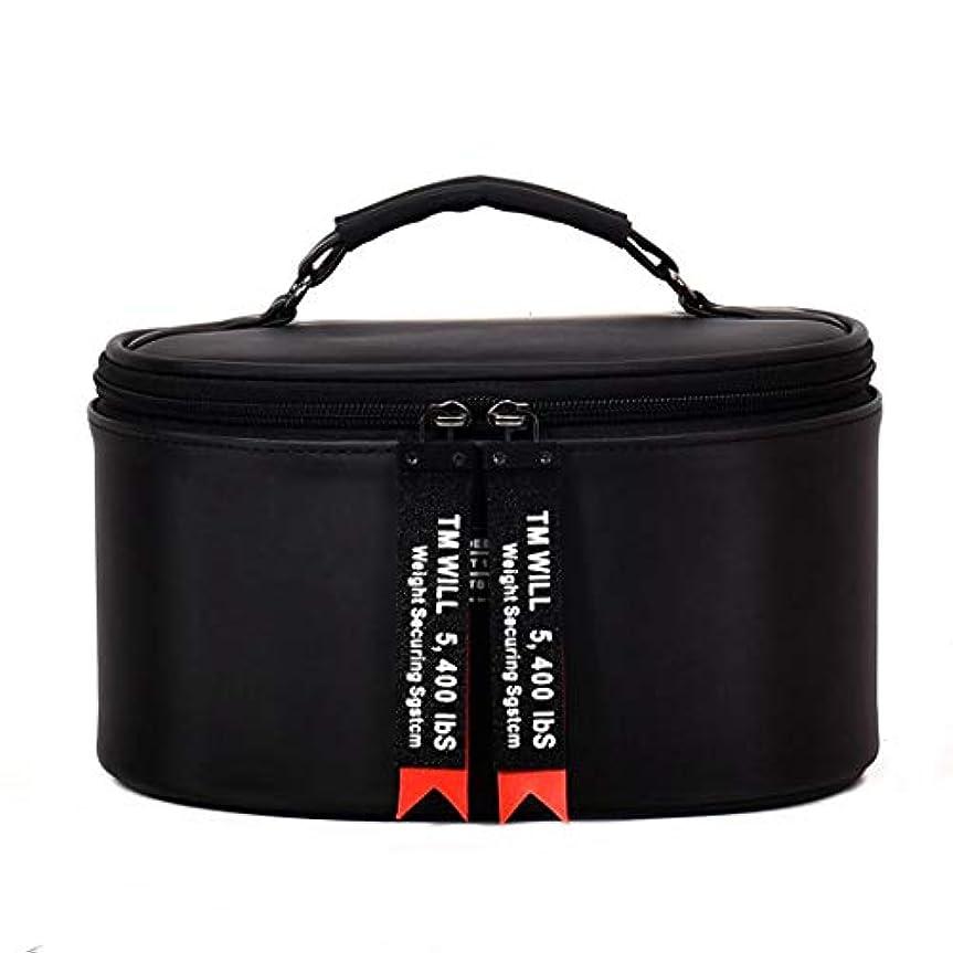 [テンカ]メイクポーチ 化粧ポーチ コスメバッグ 大容量 コンパクト ブラシ 旅行 おしゃれ 機能的 バニティケース トラベルポーチ 取っ手付