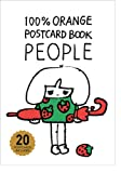 100%ORANGE POSTCARDBOOK  PEOPLE