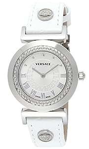 [ヴェルサーチ]VERSACE 腕時計 VANITY ホワイト文字盤 カーフ革ベルト P5Q99D001S001 レディース 【並行輸入品】