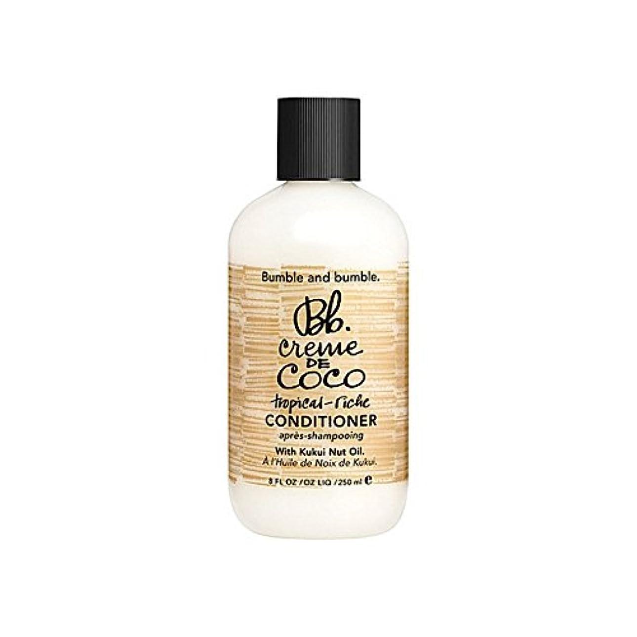 天皇服を洗うズームBumble & Bumble Creme De Coco Conditioner 1000ml (Pack of 6) - バンブルアンドバンブルクレーム?ド?コココンディショナー千ミリリットル x6 [並行輸入品]
