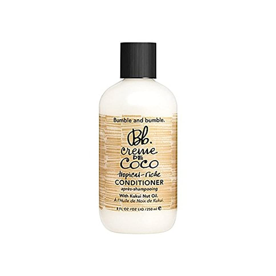 アルプスパプアニューギニアジョージスティーブンソンBumble & Bumble Creme De Coco Conditioner 1000ml (Pack of 6) - バンブルアンドバンブルクレーム?ド?コココンディショナー千ミリリットル x6 [並行輸入品]