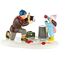 Department 56 Original Snow Village Loon Lake Champion Accessory, 2.36-Inch [並行輸入品]