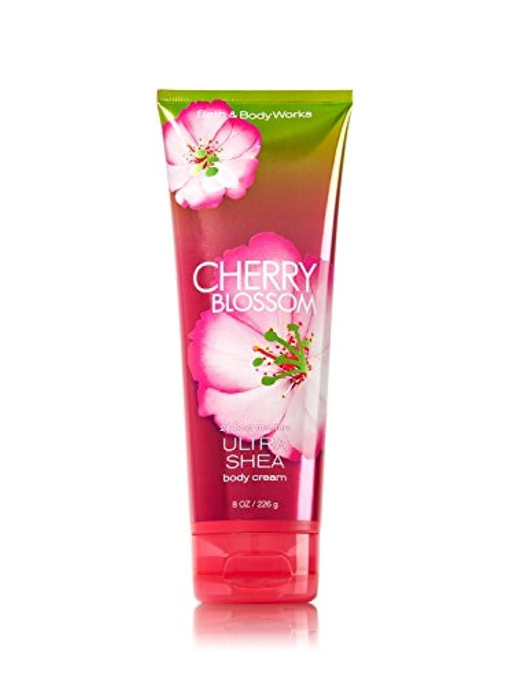 タックル免除するヘクタールBath & Body Works バスアンドボディワークス ボディクリーム 並行輸入 (Cherry Blossom)