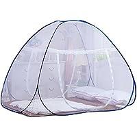 蚊帳 ムカデ対策 底生付ワンタッチ蚊帳 縦180*200*高さ140cm 持ち運び便利 折り畳み式