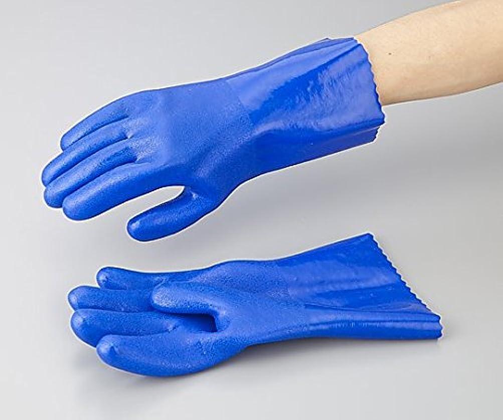 純粋なアイザック架空のアズワン1-532-01アズセーフ作業手袋PVC製レギュラーXL