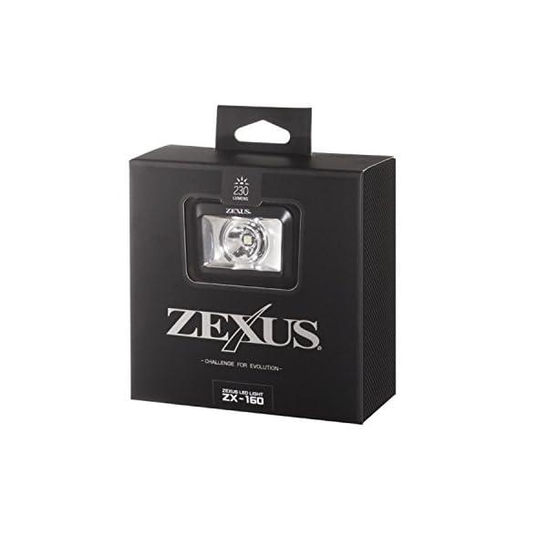 冨士灯器 ZX-160 ZEXUS LEDライ...の紹介画像2
