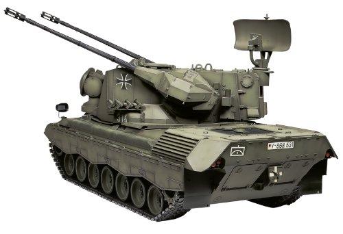 1/16 ビッグタンクシリーズ No.08 西ドイツ ゲパルト対空戦車 (ディスプレイモデル) 36208