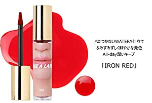 3CE テイクアレイヤー ティンデット ウォーターティント 5.2g #IRON RED/3CONCEPT EYES TAKE A LAYER TINTED WATAR TINT #IRON RED 5.2g