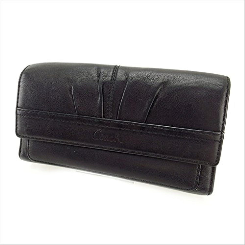 コーチ COACH 三つ折り財布 長財布 ユニセックス 中古 セール 良品 Y2262