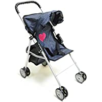 My First Doll Stroller Denim for Baby Doll by The New York Doll Collection