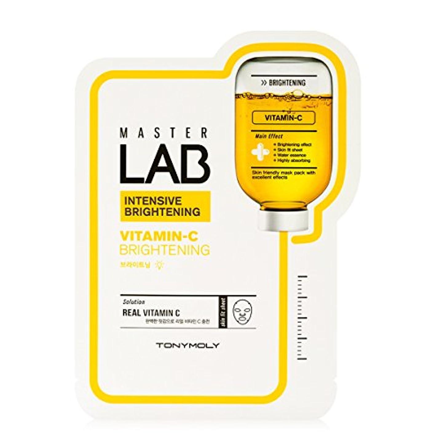 当社南アナニバー[New] TONYMOLY Master LAB Mask Sheet 19g×5ea/トニーモリー マスター ラブ マスクシート 19g×5枚 (#Vitamin-C:Brightening)