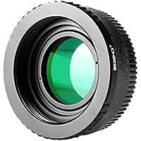 Beschoi マウントアダプター M42-Nikon M42マウントレンズ- ニコン Nikon Fマウントボディ対応レンズアダプター レンズマウントアダプター 補正レンズ付き 無限遠OK 高精度