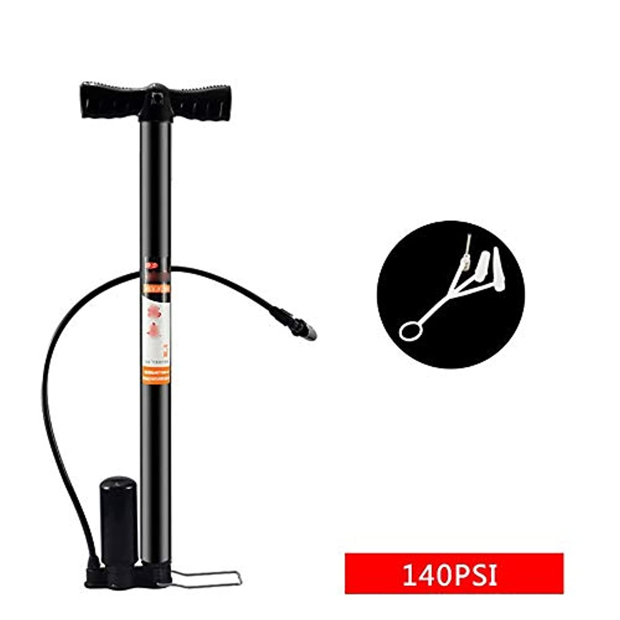 ネックレススキッパーハリウッドミニ自転車/自転車ポンプ 家庭用自転車ポンプミニポンプ160 / 140PSI内部および外部デュアル高圧ポータブルポンプUS /フランスノズル共通