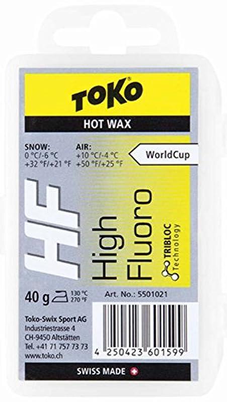 TOKO(토코) 스키 스노보드용 왁스 핫 왁스 HF 불소 고배합