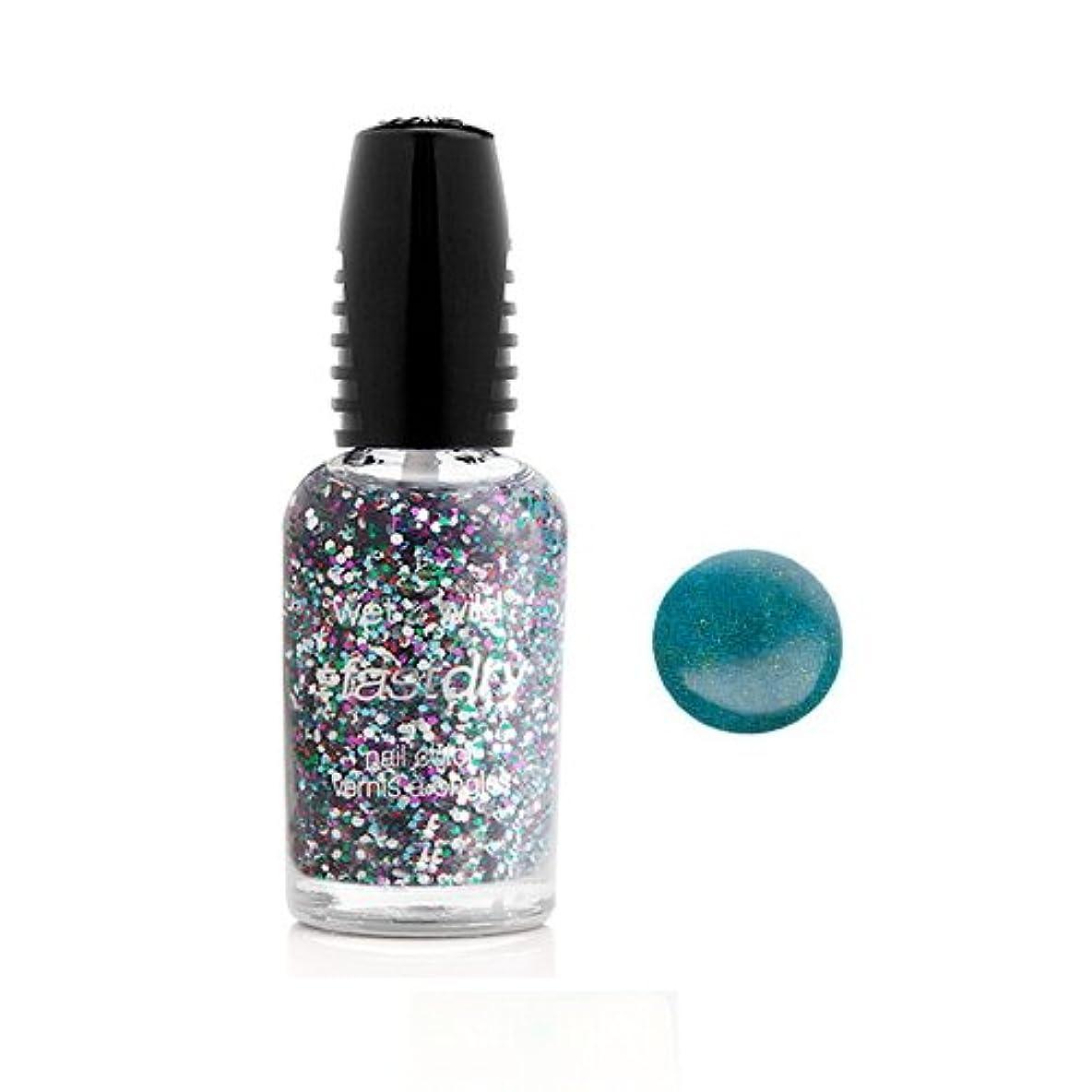 四面体ディーラー潤滑するWET N WILD Fastdry Nail Color - Teal of Fortune (並行輸入品)