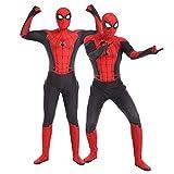 S&C Live ハロウィンコスチューム 大人コスチューム スパイダーマンコスプレ 分離式 スパイダーマン衣装  スパイダーマン仮装 スパイダーマン全身タイツ スパイダーマン着ぐるみ リアル 3D 立体プリント 戦っている感 かっこいい スパイダーマンオールイワン スパイダーマン:ファー・フロム・ホーム 2019 Spider-Man: Far From Home ピーター・パーカー / スパイダーマン マーベルヒーローコスチューム スパイダーマンスコスプレ レッド×ブラック 赤 黒 クリスマス/ハロウィン/新年会/忘年会コスプレイベント仮装 学園祭文化祭仮装#180228 (スパイダーマン2019新作, フリーサイズ)