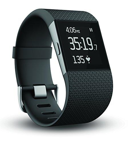 Fitbit Surge心拍数モニター付サージフィットネスウォッチ腕時計 Small