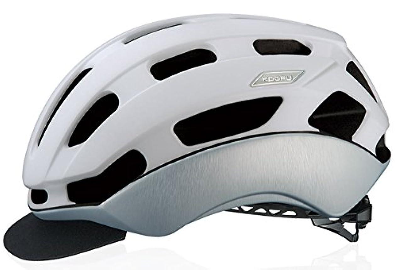 お世話になった津波改修OGK(オージーケー) KOOFU(コーフー) BC-GLOSBE II(BCグロッスベ2) ヘルメット マットホワイトヘアライン
