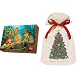 アークライト(Arclight) インカの黄金 新版 完全日本語版 + インディゴ クリスマス ラッピング袋 コットンバッグL クリスマスツリー グリーン XG609
