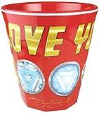 ティーズファクトリー タンブラー I LOVE YOU 3000 H8.7×Φ8.3cm マーベル メラミンカップ MV-5525335LY
