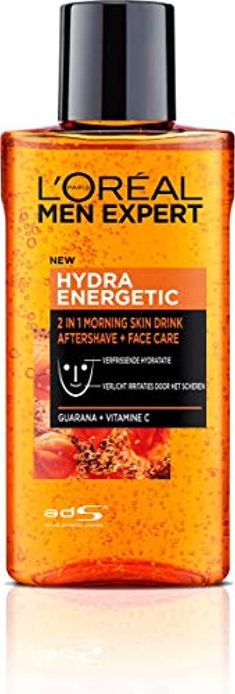 抑止する妨げる会計ロレアル Men Expert Hydra Energetic 2-In-1 Aftershave + Facecare 125ml/4.2oz並行輸入品