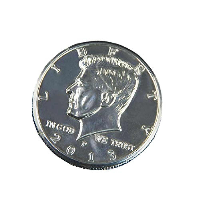 Pichidr マジックプロップ フリッパーコイン マジックプロップハーフコイン バタフライコイン マネーマジックトリックコイン