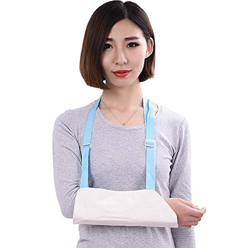 健康的力学フレア骨折前腕スリング、アームリストストラップアーム固定保護ギアエルボー、ジョイントブラケットブラケット生成石膏添え木