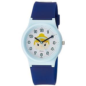 [シチズン キューアンドキュー]CITIZEN Q&Q 腕時計 ディズニー コレクション TSUMTSUM シンデレラ ウレタンベルト ブルー HW00-010 ガールズ