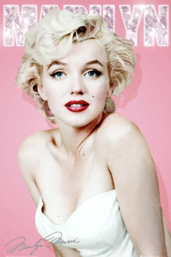 Marilyn Monroe - Diamond Poster - 91.5x61cm
